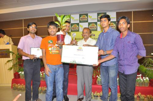 Wonderla award for energy conservation
