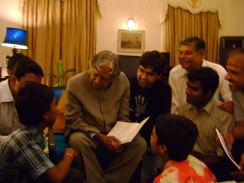 with APJ Abdul Kalam